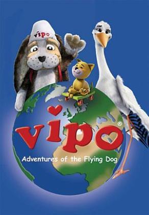 Vipo es un perro volador.