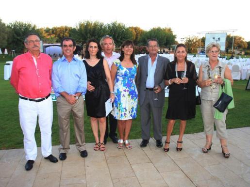 Juan Janer, Juan Jaume, Coloma Tomàs, Bernardino Jaume, Jeroni Cànaves, Lluc Tomàs, Maria Mataró y Francisca Salvà.