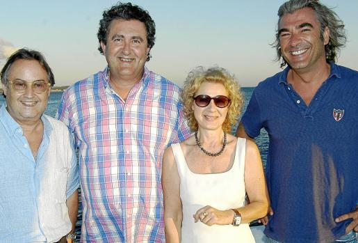 Nadal Tortella, Ramón Serballs, Donatella Volpari y Javier Borrás.