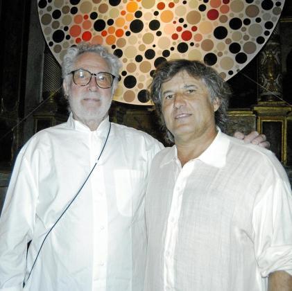 Ben Jakober y Amador Magraner.