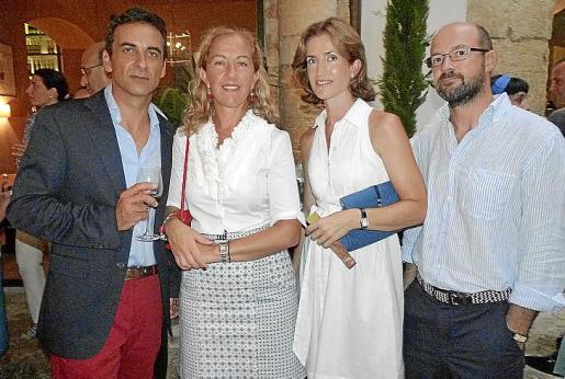 Jorge Pol, Irene San Gil, Carmen Homar y Pedro Seguí.