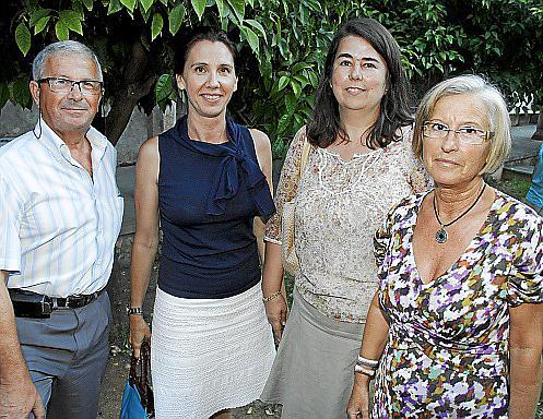 Jaime Olmos, Natalia Rigo, Carmen Baiget y Mari Carmen Casamayor.