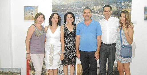 Marga Llobera, Marixe Fernández, Marisol Korkis, Jorge Azri, Xavier Ramis y Aina Ramis.