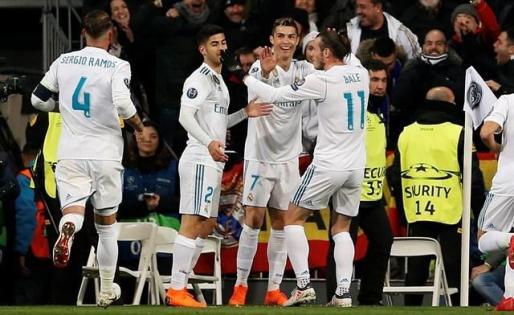 La Champions devuelve la sonrisa a Cristiano y al Real Madrid.