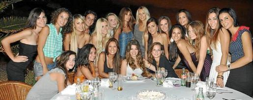 Las candidatas al título de Miss Baleares 2011.