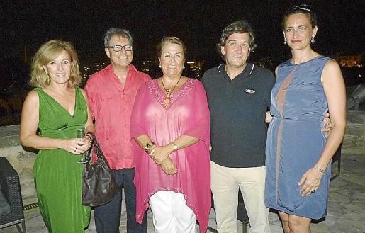 Cristina Gual, Pere Batle, Manuela de la Vega, Tito Ribas y Estefanía Azcona.