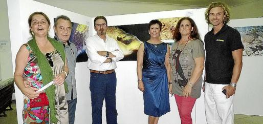 Caterina Torrilla, Pep Coll, Guillermo Félix, Kiko Torrilla, Xisca Mas y Daniel Ruano.
