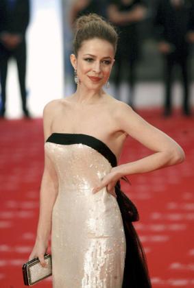 Fotografía de archivo de la actriz Silvia Abascal en la ceremonia de entrega de los Premios Goya.