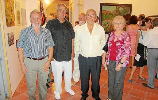 Miquel Arbona, Francesc Bujosa, Miquel Soler y Maribel Torrens.