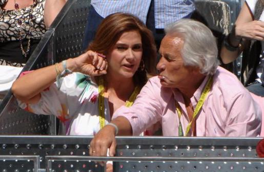 El diestro Sebastián Palomo Linares y su mujer, Marina Danko, en una foto de archivo.