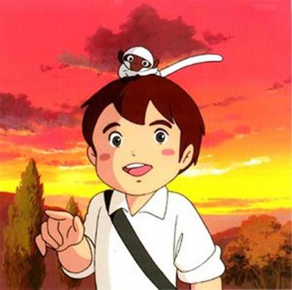 Fotograma de la serie Marco.