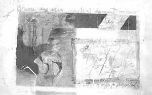 «Quasi una illa», una de las obras que presenta el pintor Pere Alemany en su segunda exposición en la isla de Eivissa.