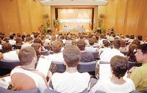 Aspecto de uno de los actos de la anterior edición de los cursos de verano de la UIM. Foto: GERMÁN G. LAMA.