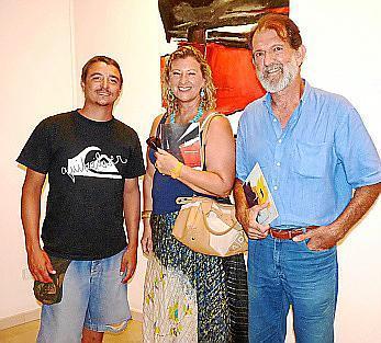 Marc Patiño, Pilar Maldonado y Pere Bonet.