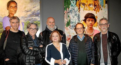 Jaume Gual, Pedro Coll, Rafel Vaquer, Cristina García Rodero, Miguel Font y Pepe Cañabate.