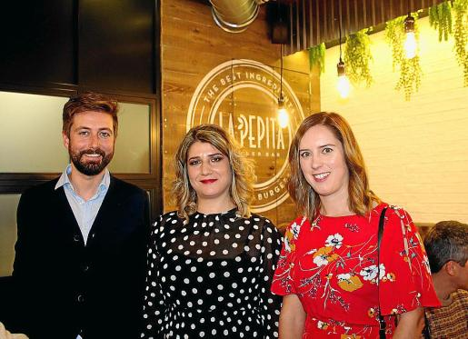 Juan Romero, Cristina Tutor y Raquel Fondevila, socios propietarios.