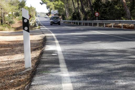 Carretera PM-810 de Sant Carles.