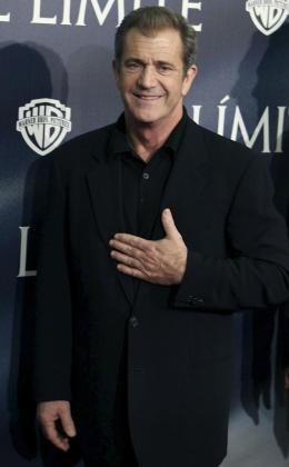 """El actor estadounidense Mel Gibson posa para la prensa durante el pase gráfico de la película """"Al límite""""."""
