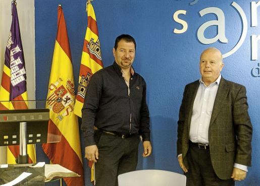 Paco Montilla (PP) tomó posesión ayer como nuevo concejal en sustitución de Neus Mateu.