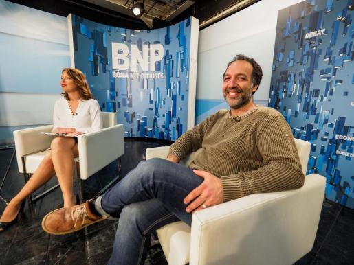 Joan Carles Palerm, presidente del GEN–Gob, fue el protagonista de la entrevista de ayer en el Bona nit Pitiüses.