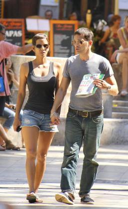 Halle Berry y Olivier Martínez, en Sóller.