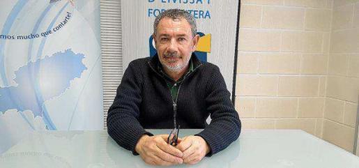 Juan Tur es el presidente de la Asociación de vecinos de Sant Miquel desde que se fundó hace tres años.