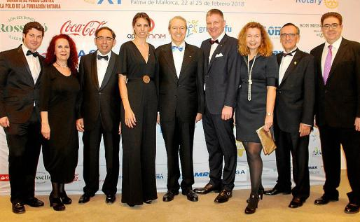 Guillermo García, Marga Noguera, Gabriel Riera, Mónica Vaquer, Jesús Martínez, Michael Blum, Christine Stein, Xim Fortuny y Antonio Bennássar.