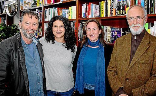Miguel Perelló, Marilén Fiol, Carolina Basterrechea y Joan Fullana.
