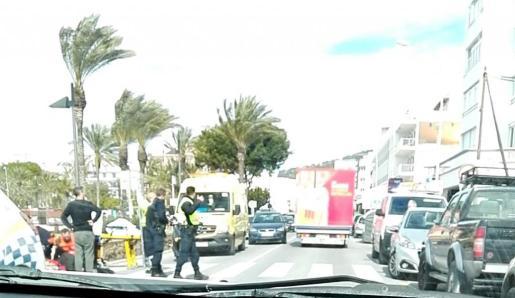El atropello se ha producido en la avenida Dr. Fleming en Sant Antoni.