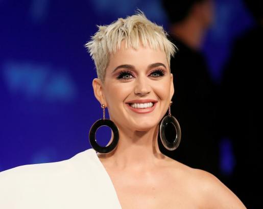 La cantante Katy Perry durante los MTV Video Music Awards.