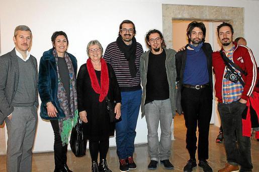 Fran Reus, Francisca Niell, Mercè Borrás, Sebastià Mascaró, Cristian Pons, Adrián Martín y Alejandro Martín.