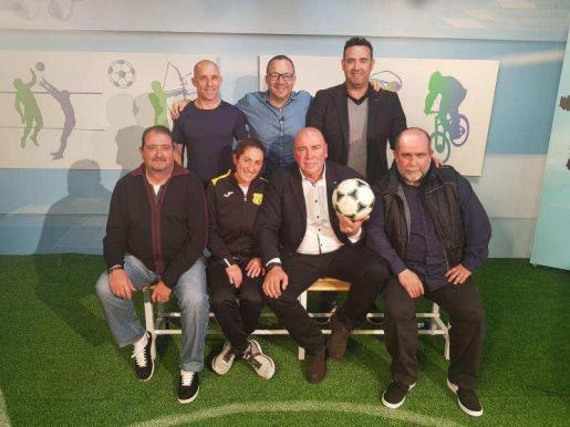 Una imagen de los participantes en el programa de ayer.
