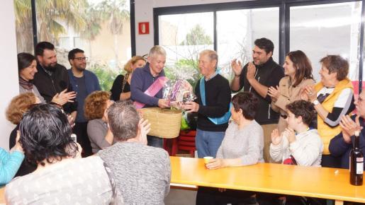Vicent d'en Jordi deja la presidencia de la colla de l'Horta tras su fundación hace 40 años.