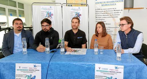 Imagen de la presentación de la V edición de Corre por las Enfermedades Neurológicas.