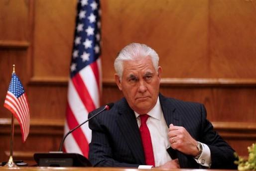El secretario de Estado estadounidense Rex Tillerson.