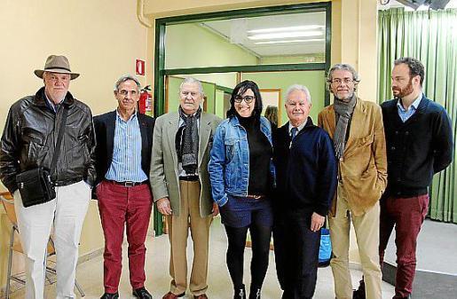 Íñigo Morales de Rada, Gabriel Morell, Pep Sans, María Salinas, Pep Ferragut, Pedro y Perico Gual de Torrella.