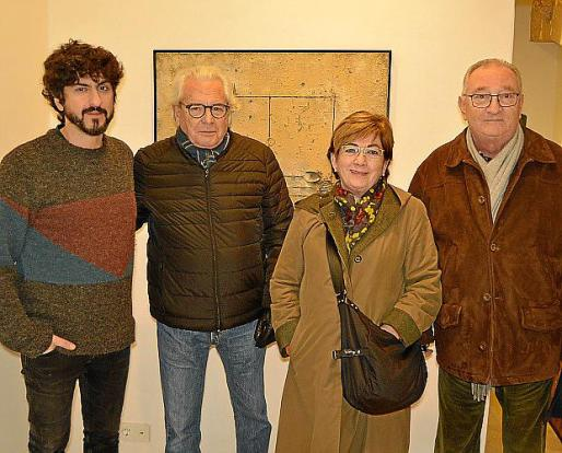 Pol Font, Mauricio d'Ors, Catalina Cerdà y Noel Lerycke.