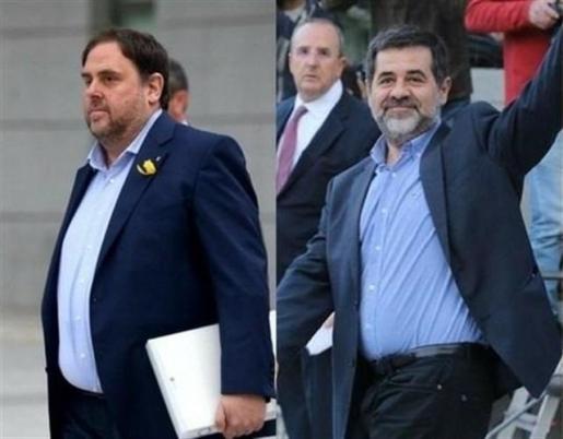 El TS confirma las primeras denegaciones de excarcelación de Junqueras y Sánchez para acudir al Parlament.