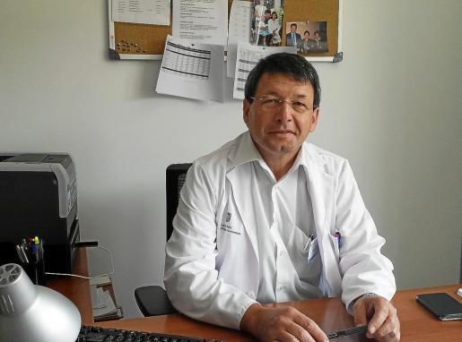El jefe del Servicio de Pediatría, Bartolome Bonet, en una imagen de archivo.