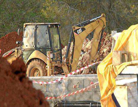El accidente ocurrió en una obra en construcción en Sant Carles.