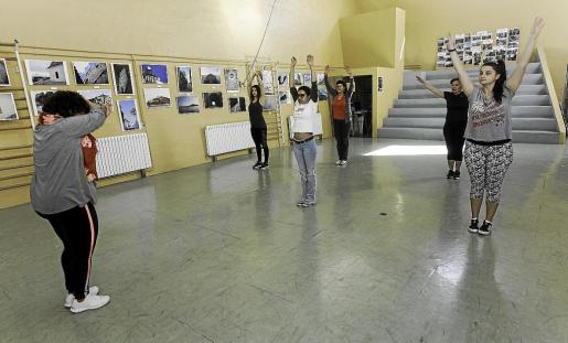 Durante toda la mañana de ayer se desarrollaron talleres relacionados con el deporte.