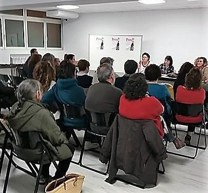 Imagen de la reunión celebrada este viernes.