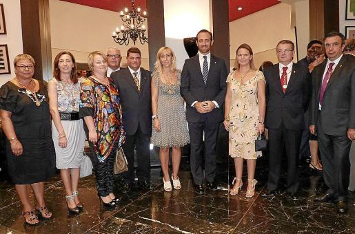 Coloma Terrassa, Margalida Roig, Margalida Ginard, Bernardí Coll. Jaime Crespí, Catalina Soler, José Ramon Bauzá, María Salom, Joan Rotger y Miguel Vidal.