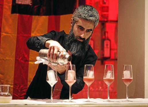 Un momento del concurso de Ibiza y Formentera que se celebró ayer en el Hotel Pacha.