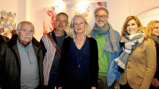 Joan Cunill, Adam Berman, Petra Dahmen, Thierry Guillet y Cati Munar.