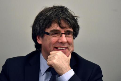 Fotografía de archivo de Carles Puigdemont.