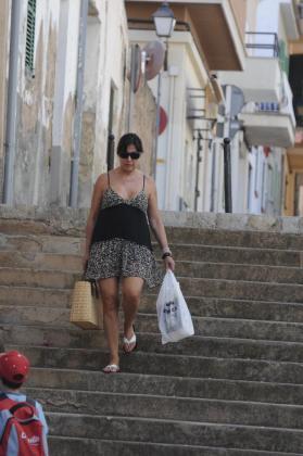 Imagen de Carmen Martínez Bordiu, fotografiada en Mallorca.