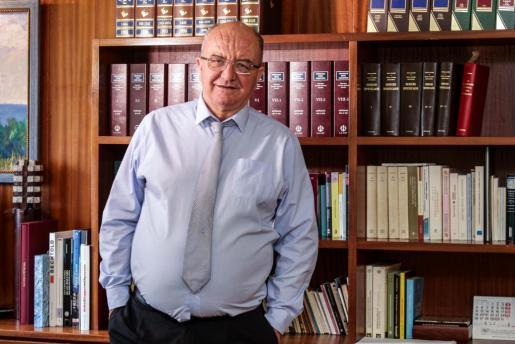 José María Costa, miembro de la directiva del Club Náutico.