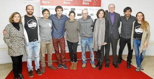 Margalida Pons, Sebastián Álvarez, Eneko Pou, Chris Sharma, Neus Colom, Iker Pou, Paula Serra, Pedro Comas, Ricardo Giancola y Adhara Secilla.