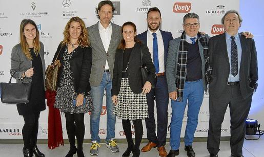 Esperança Ramón, Mirian Rosel, Víctor Küppers, Joana Llompart, Toni Company, Jordi Fresno y Toni Villalonga.